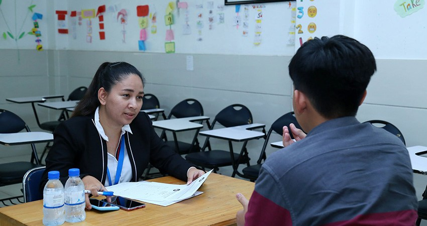 Exit Oral Interview for Level 12 Students