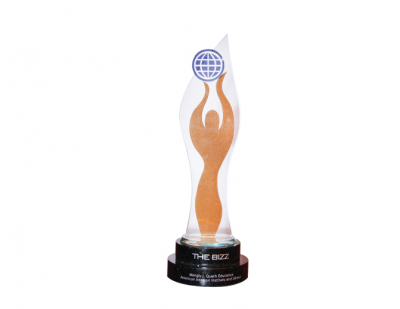 The BIZZ ARABIC 2013 AWARD For Quality and CSR Certificate, Dubai, UAE