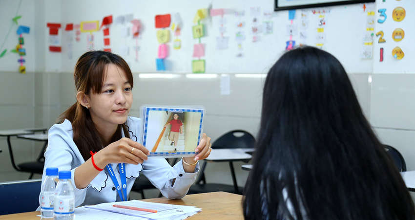 Oral Interview for Level 1 and Level 7 Student