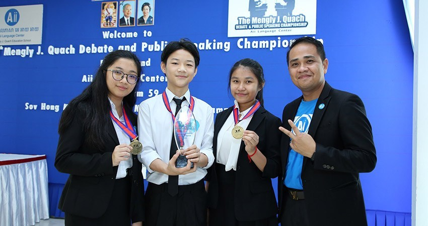 The 4th Mengly J. Quach Debate and Public Speaking Championship