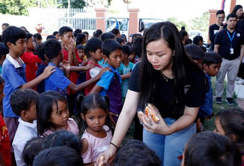 Open Field Study for Level 11 and 12 students to Save Poor Children in Asia Organization