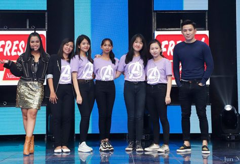 4 students from Aii Language Center were invited to MyTV