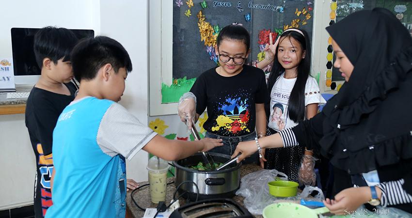 Kid 9B Fundraising Activity