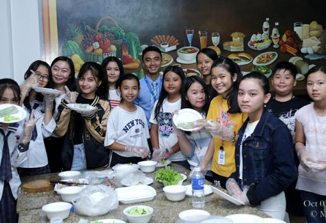 """Cooking Project """"How to Make Spring Roll"""" by CSL Level 03A Students"""
