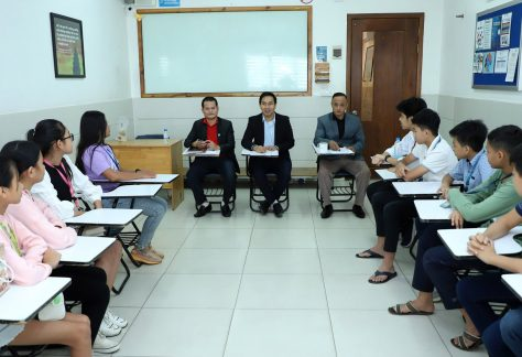 Exit Oral Interview for Kid 12 Students